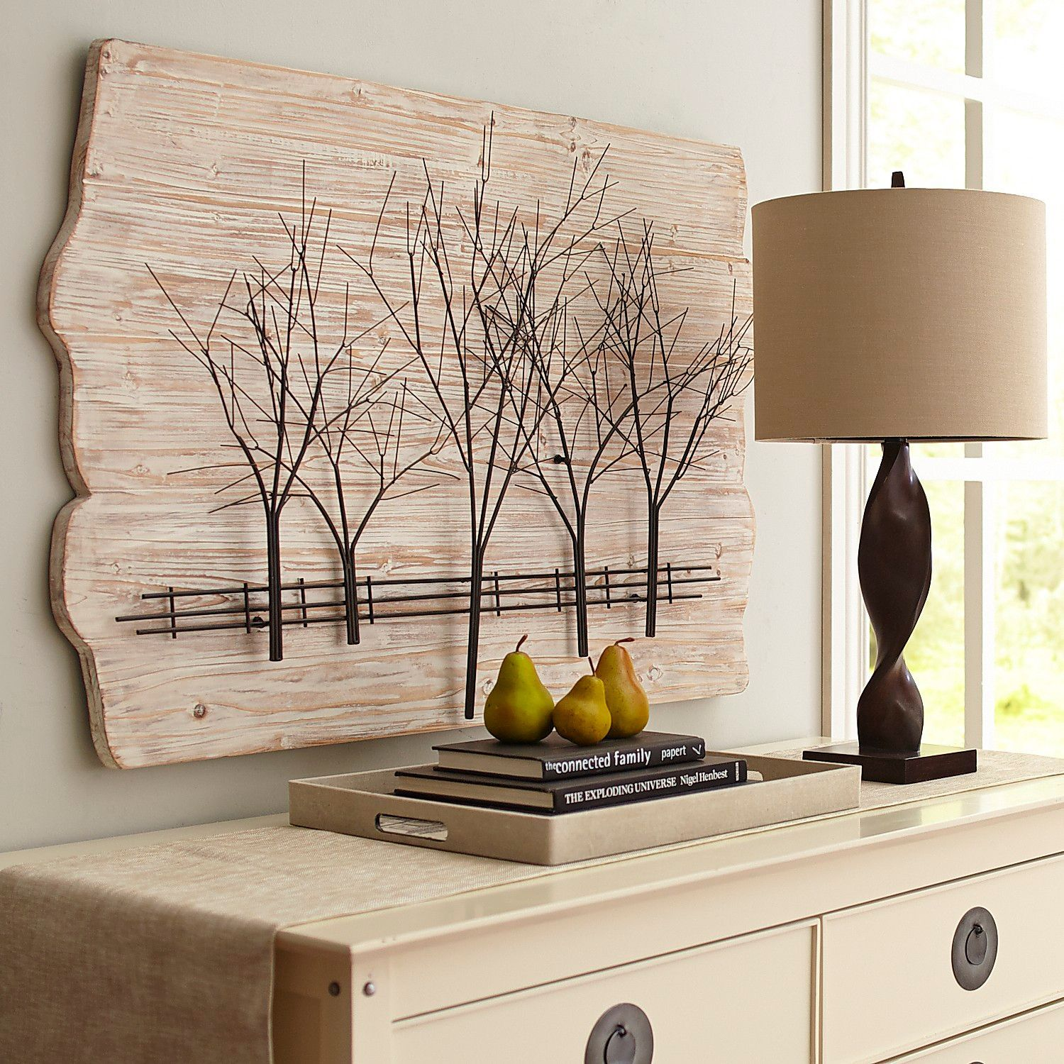 Ivory Woodlands Wall Decor