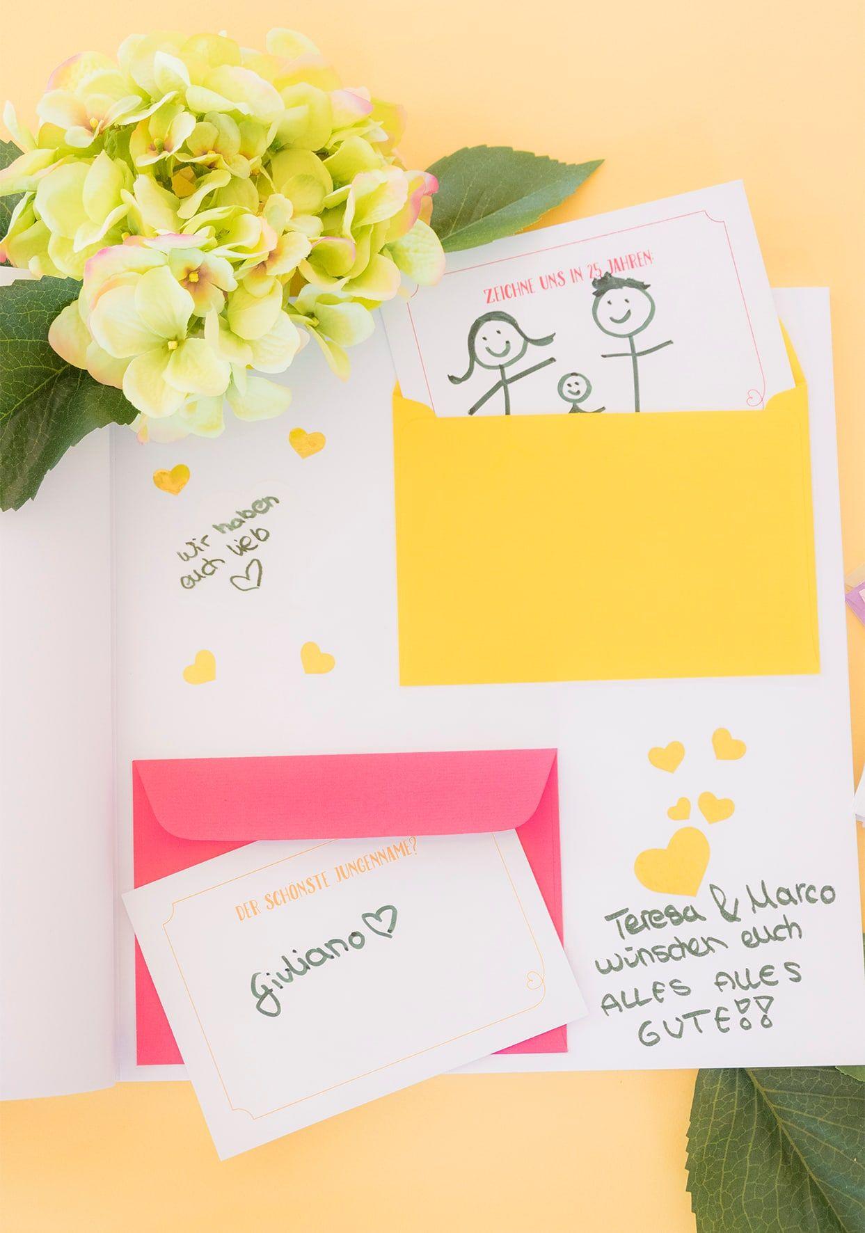 Großartig Gästebuch Hochzeit Seite Gestalten Sammlung Von Individuell Gestaltete Innenseiten Des Gästebuches Machen Richtig