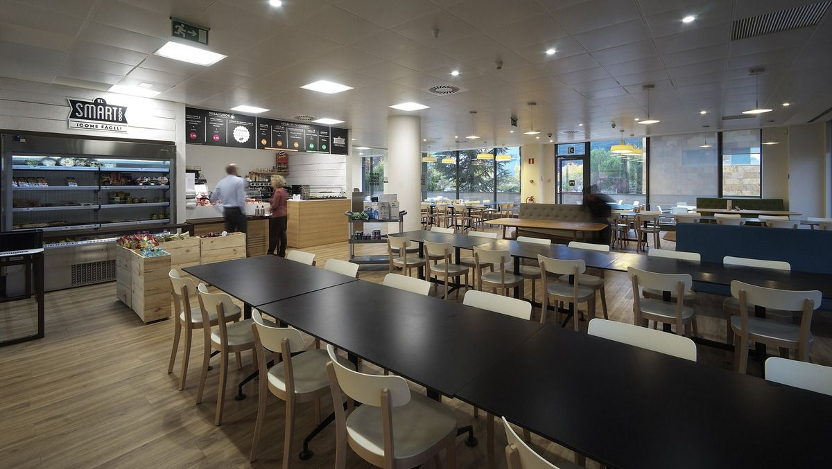Office Tour Banco Sabadell Headquarters Madrid Break Room