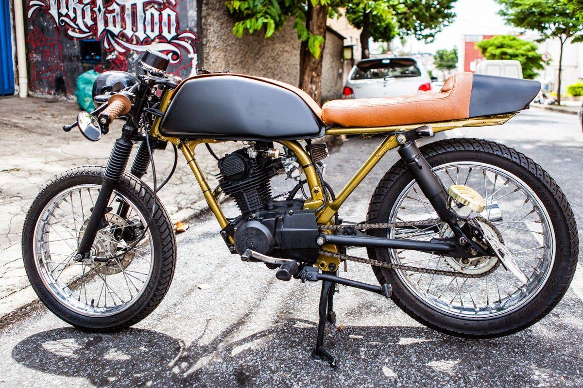 O que rola por ai: ML 125 Cafe Racer | Garagem Cafe Racer ...