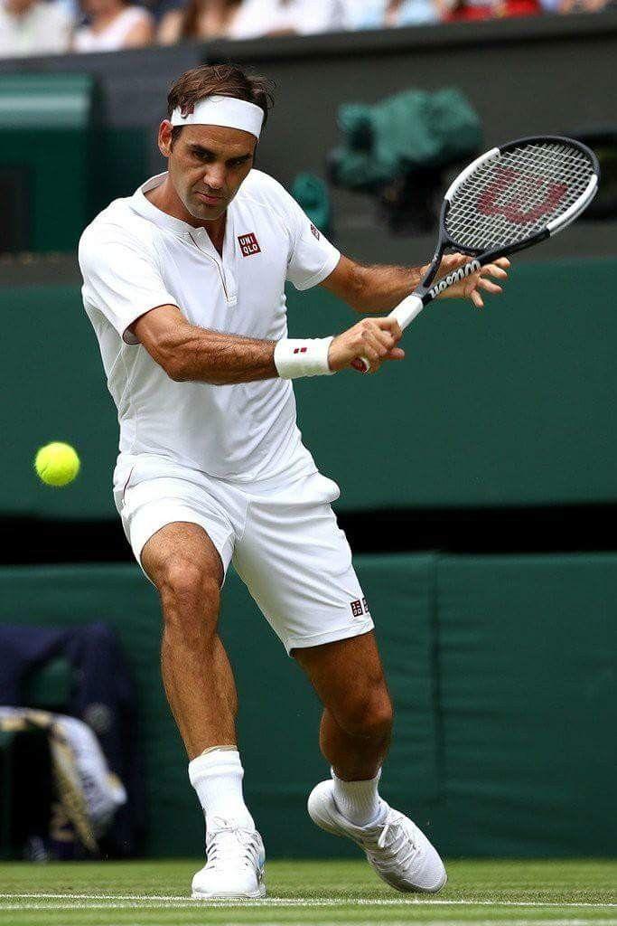 Wimbledon 2018 R2 テニス選手 フェデラー 男子 テニス