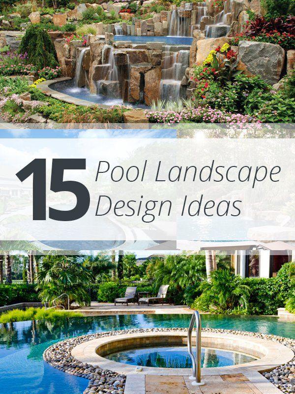 15 Pool Landscape Design Ideas   Furniture und Möbel
