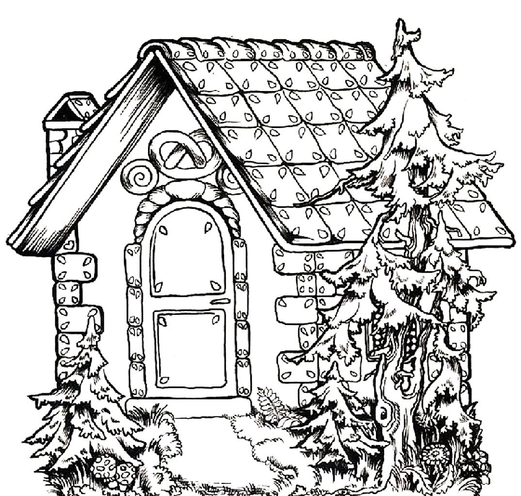 Free Printable House Coloring Pages For Kids Color This Online Pictures And Sheets A Book Of
