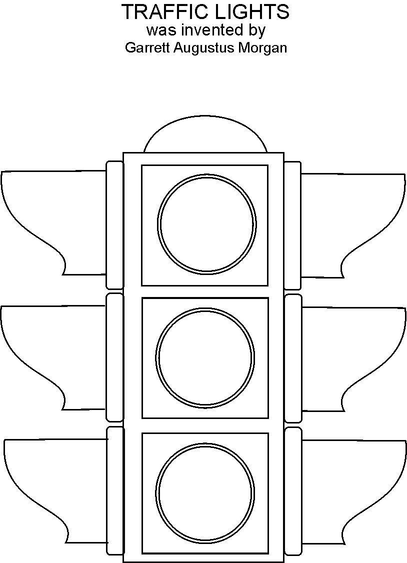 Go Make Disciples Traffic Light Coloring Sheet Traffic Light