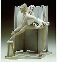 Behind The Screen Lladro - Year issued 1966//Year retired 1980