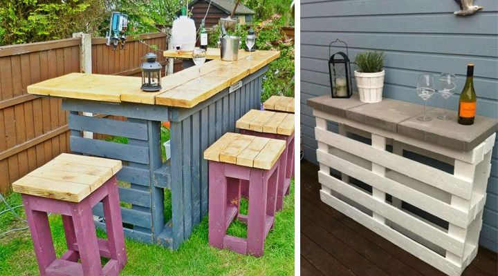 Muebles hechos con palets ideas para el hogar - Muebles de jardin hechos con palets ...