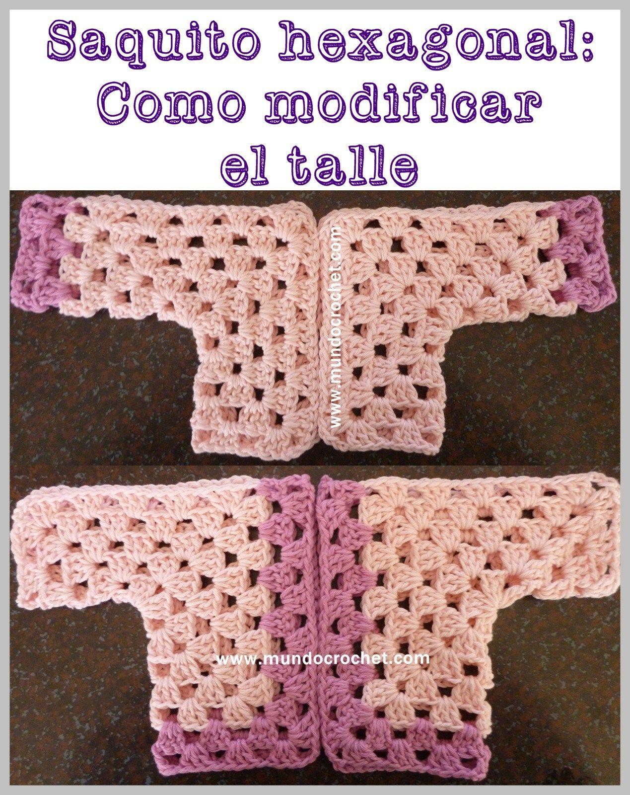 Crochet baby hexagon jacket | Crochet like you don\'t care | Pinterest