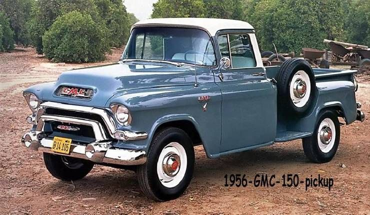 1956 Gmc 150 Pickup Chevy Trucks For Old Clic