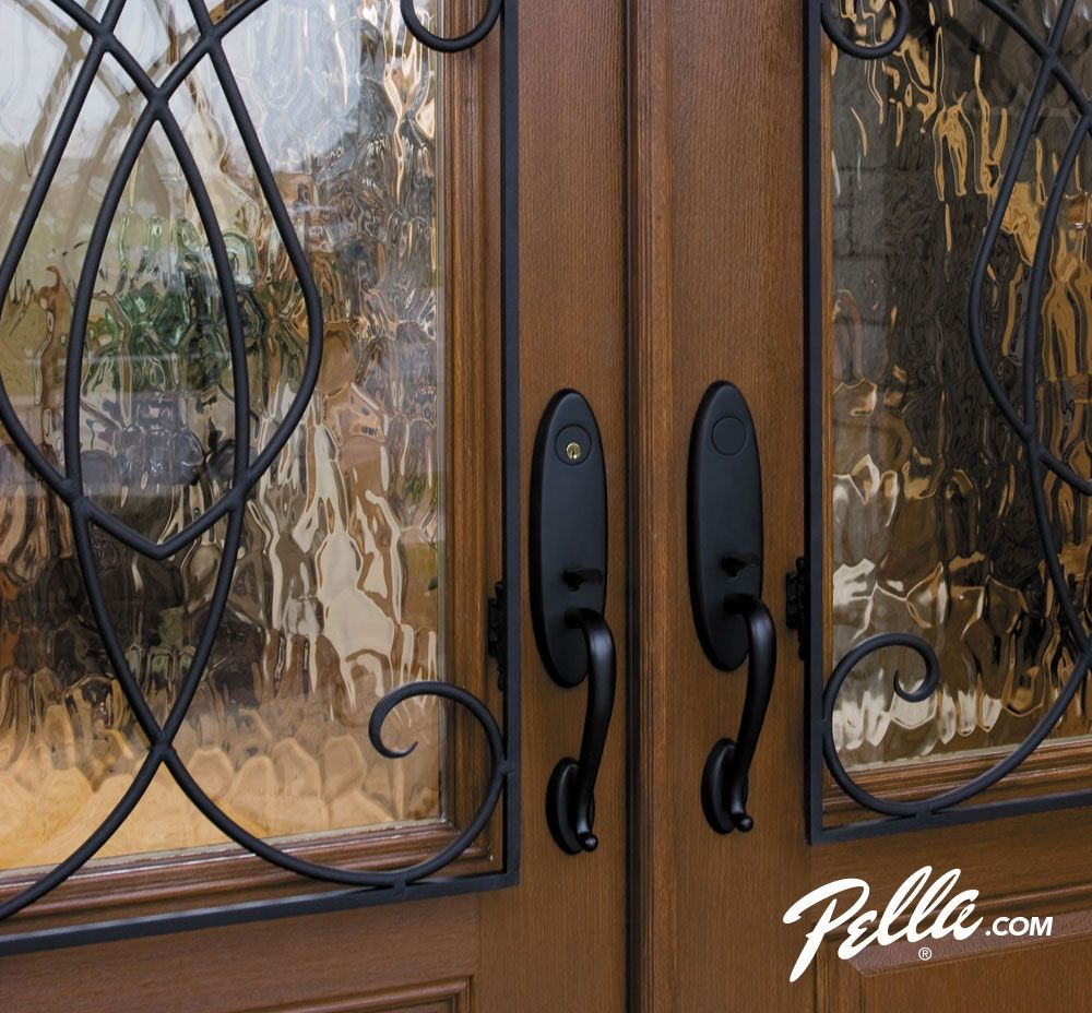 Enhance Beauty And Privacy With Wrought Iron Grilles And Obscure