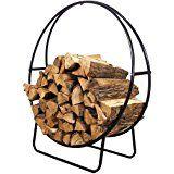 Amazon.com: Pleasant Hearth Log Hoop: Home & Kitchen