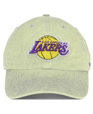 competitive price d38c0 04d5c  47 Brand Los Angeles Lakers Cement Clean Up Cap - Gray Adjustable.