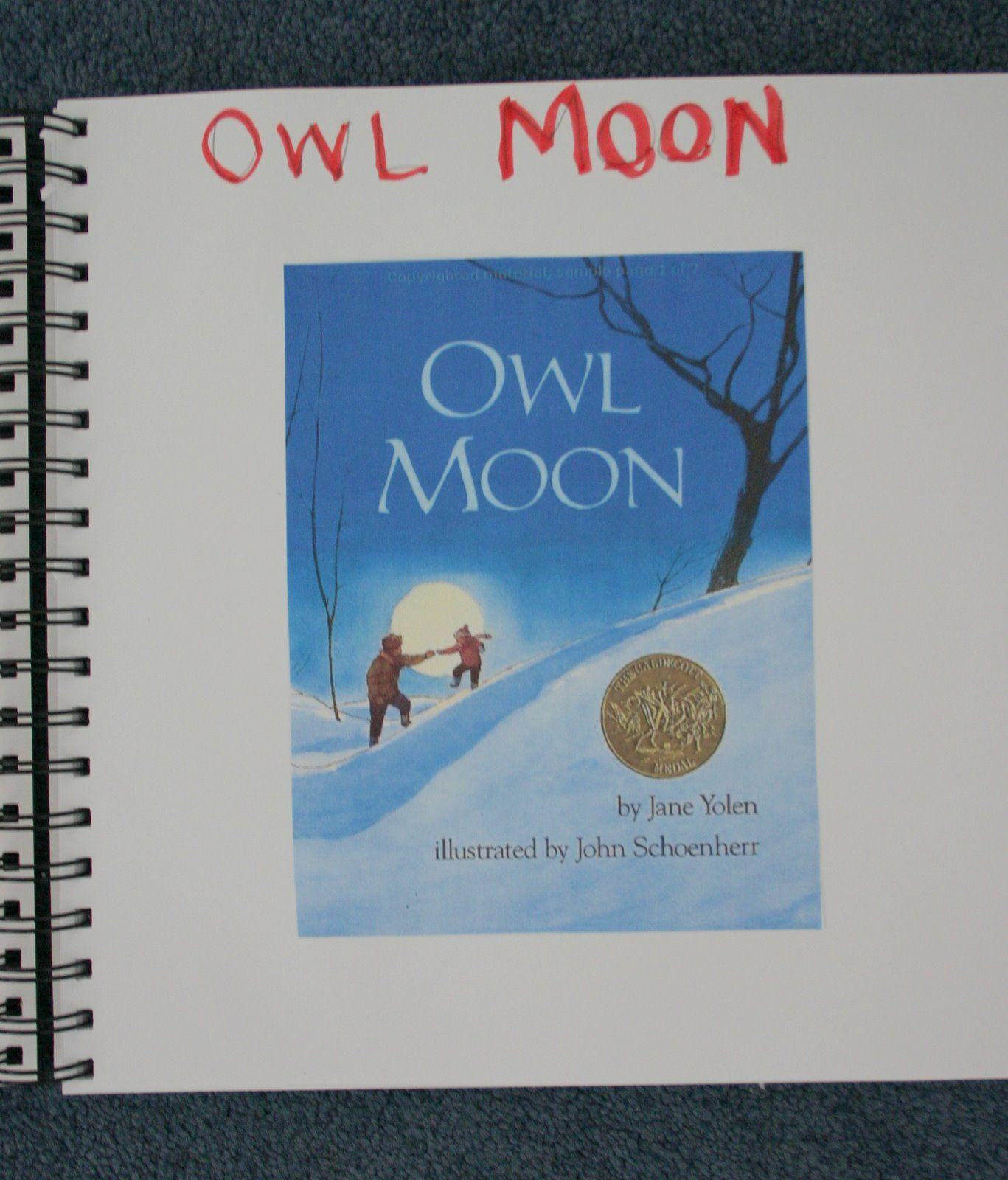 Owl Moon Notebook