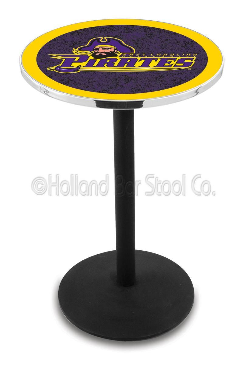 East Carolina Pirates 36/42 Pub table, Bar stools
