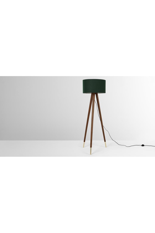 Made Stehlampe Dunkles Holz Dark Wood Wood Floor Lamp Floor Lamp