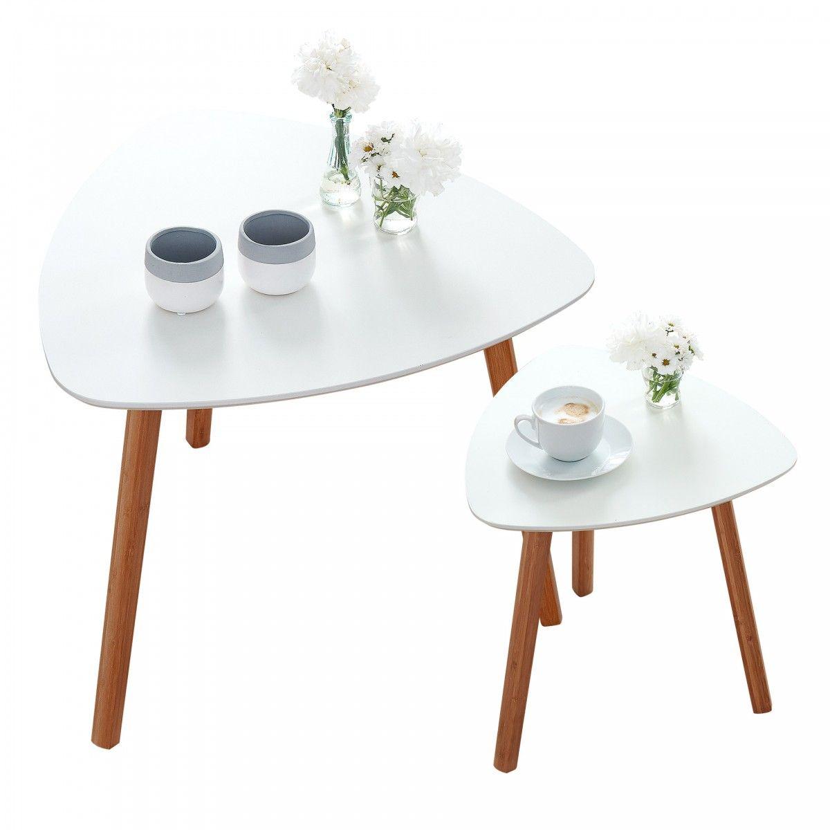 Couchtisch Set Rinkeby 2er Set Weiss Couchtisch Set Couchtisch Und Tisch