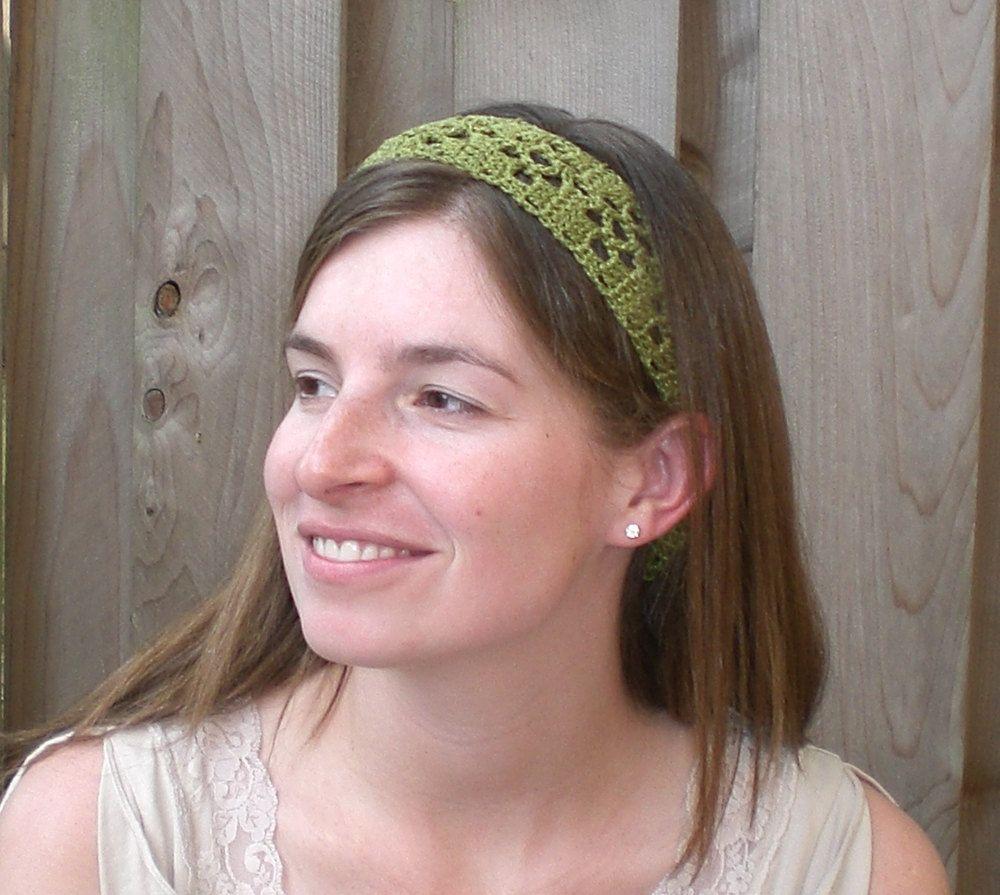 Crochet Pattern Easy Crochet Headband Pattern With Open Flower