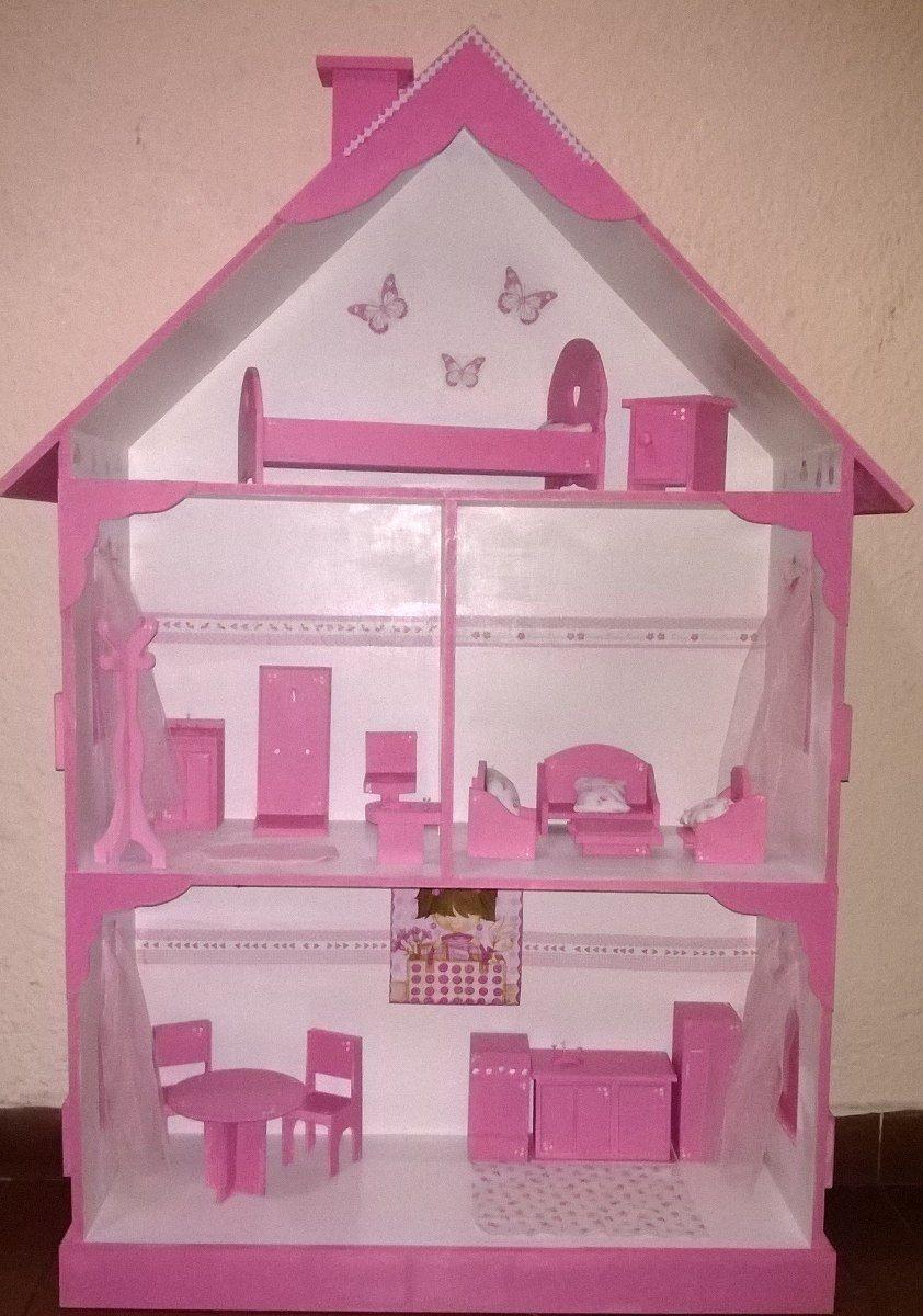 Casa De Muñecas - Barbie - Monsterhigh Oportunidad | Casa de muñecas ...