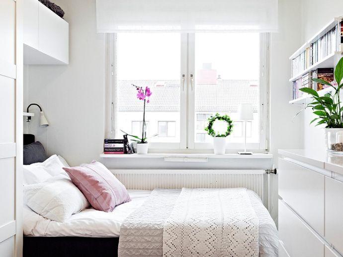 7x slimme tips voor de kleine slaapkamer | thuis | Pinterest ...