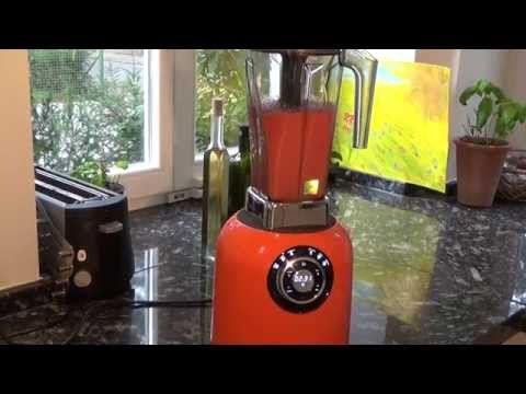Video - Tomatensuppe im Mixer gemacht - Grüne Smoothies