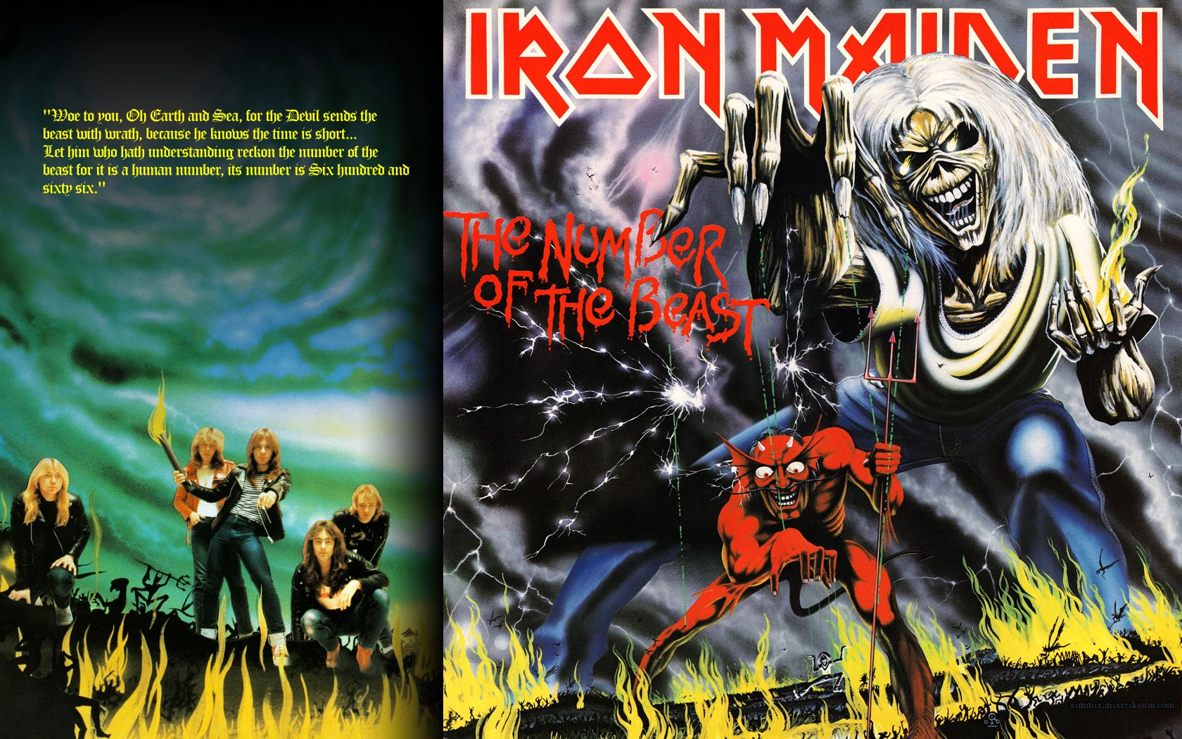 Free Iron Maiden Number Of The Beast Wallpapers Hd Resolution As
