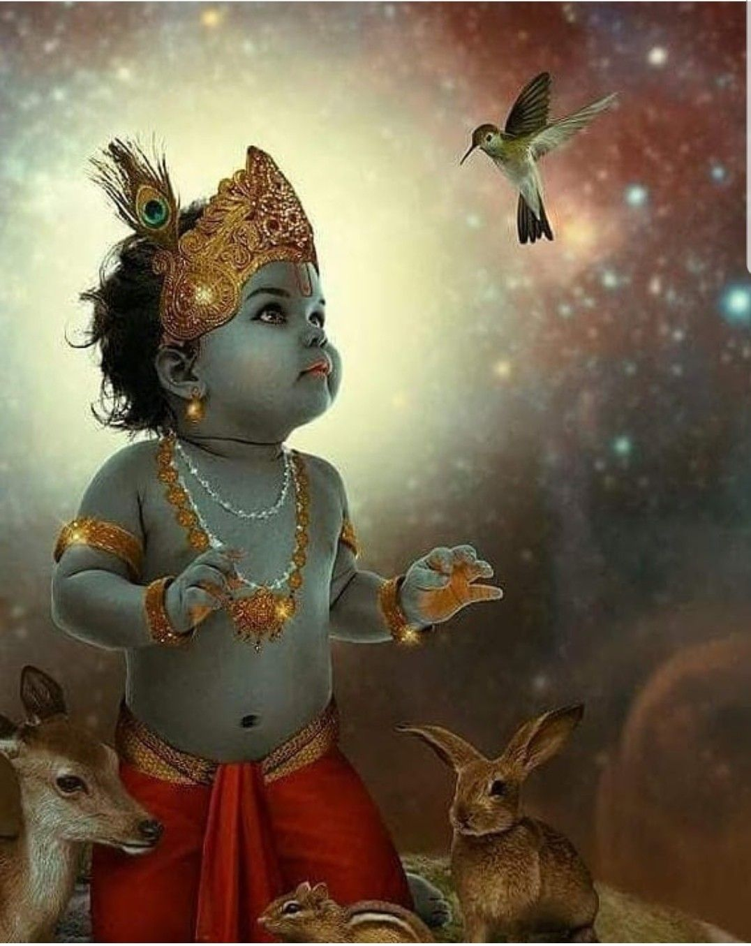 Pin On Baby Krishna