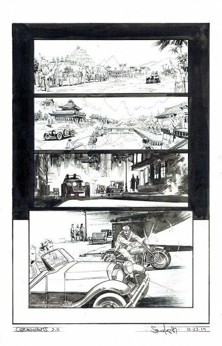 Chrononauts #2 p.11 by Sean Gordon Murphy