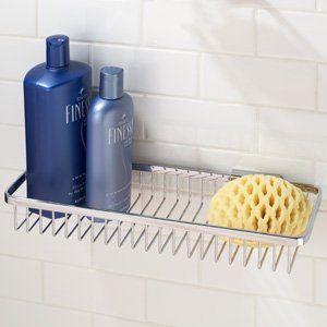 ginger 552gpbpvd pvd brass hotelier hotelier 154 wall mounted brass shower basket 552g - Bathroom Accessories Ginger