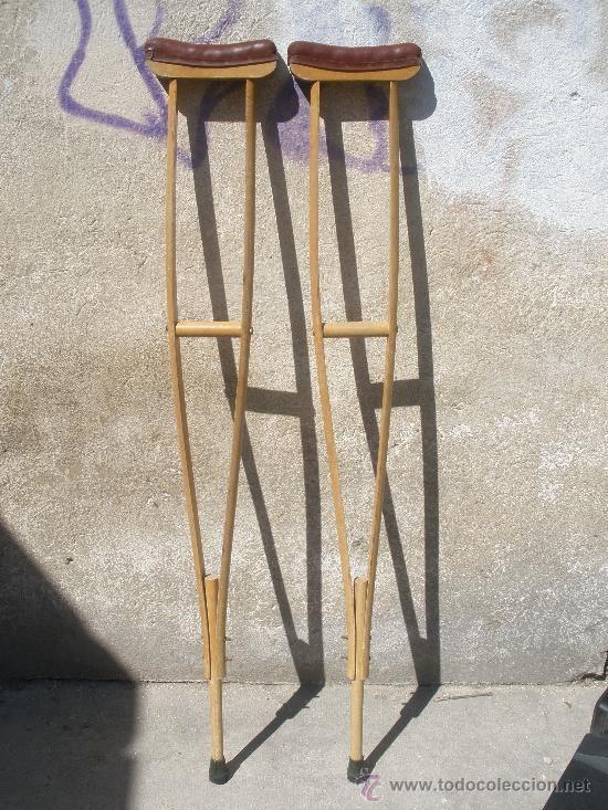 muleta madera