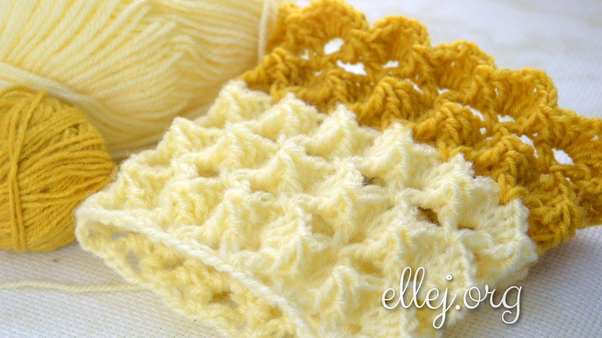 Узор «Зефирка» • Вязание по кругу | Pinterest | Patrones de crochet ...