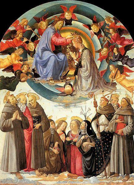 File:Domenico ghirlandaio, incoronazione della vergine di città di castello.jpg