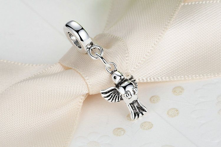 charm simil pandora in vero argento
