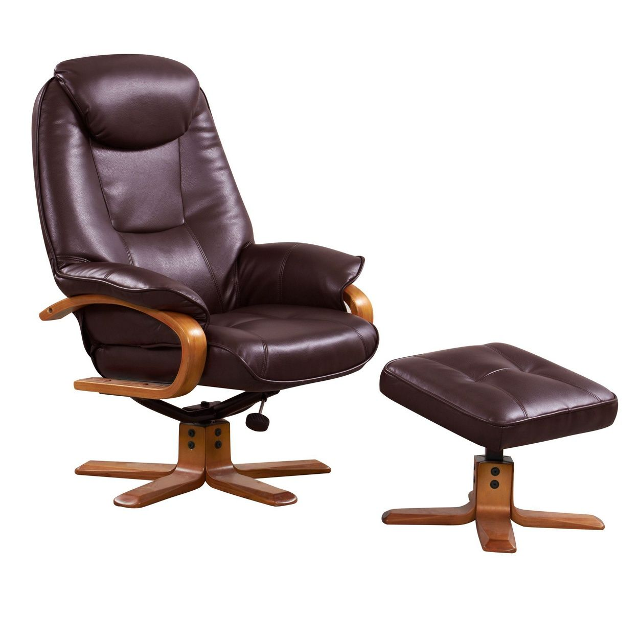 Marvelous Perfect For Relaxing, Our U0027Bjornu0027 Recliner Chair And Footstool Are Finished  In Smooth