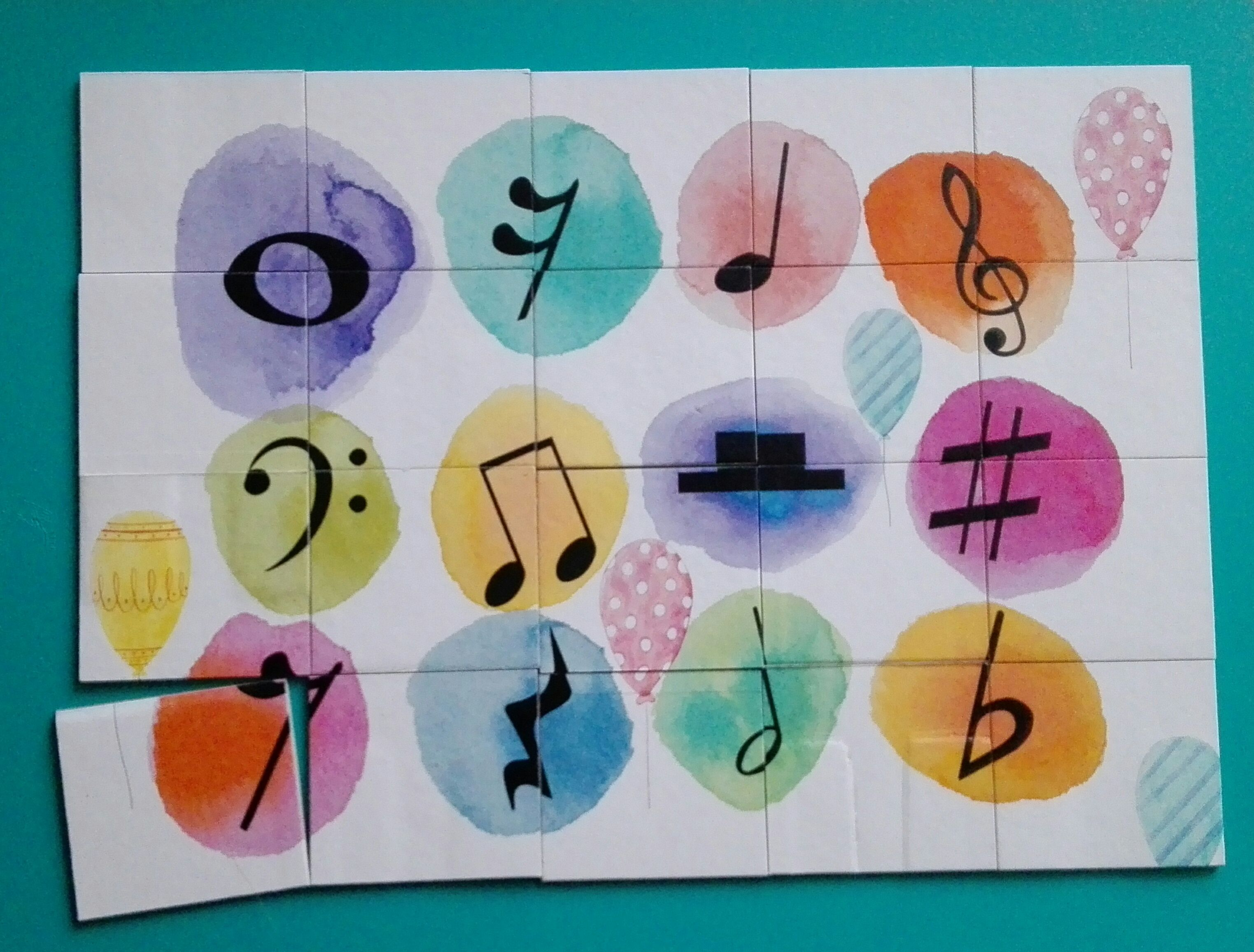 Jigsaw Puzzle With Musical Symbols Httpsfacebook