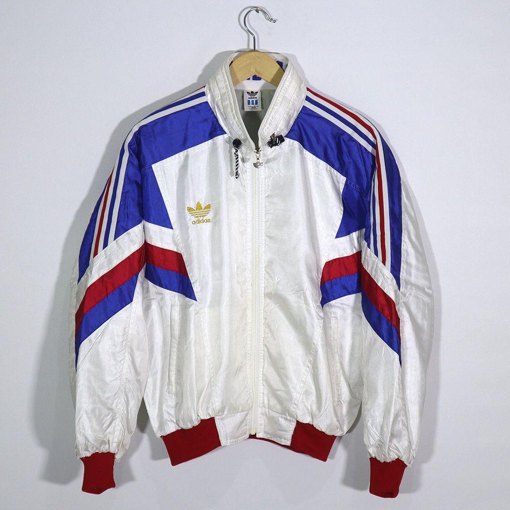 Rare Vintage 80s 90s Adidas Jacket Windbreaker Bomber Classic Etsy Adidas Jacket Windbreaker Adidas Jacket Streetwear Fashion [ 1000 x 1000 Pixel ]