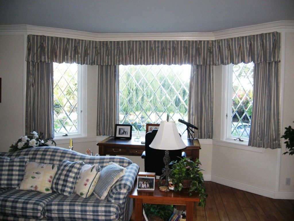 Modern window treatment ideas - Window Treatment Ideas Interior Modern Bay Window Curtain Design Idea Bay Window Decorating