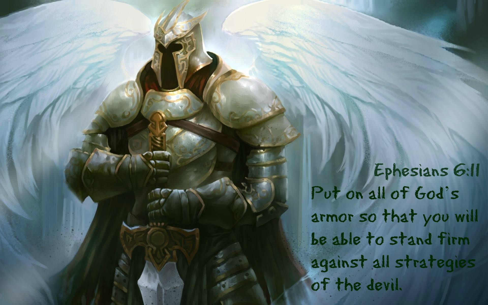 Ephesians 611 Put On All Of Gods Armor So That You Will Be Able To