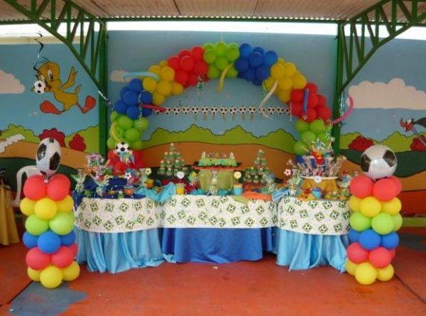 Cómo elegir los motivos para decorar la fiesta de cumpleaños del niño