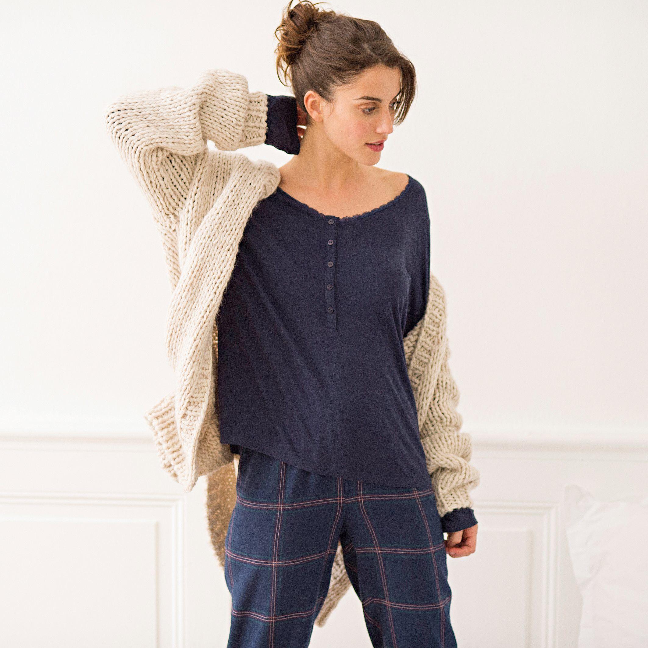 Pijama em algodão » Ref 7272669 em laredoute.pt
