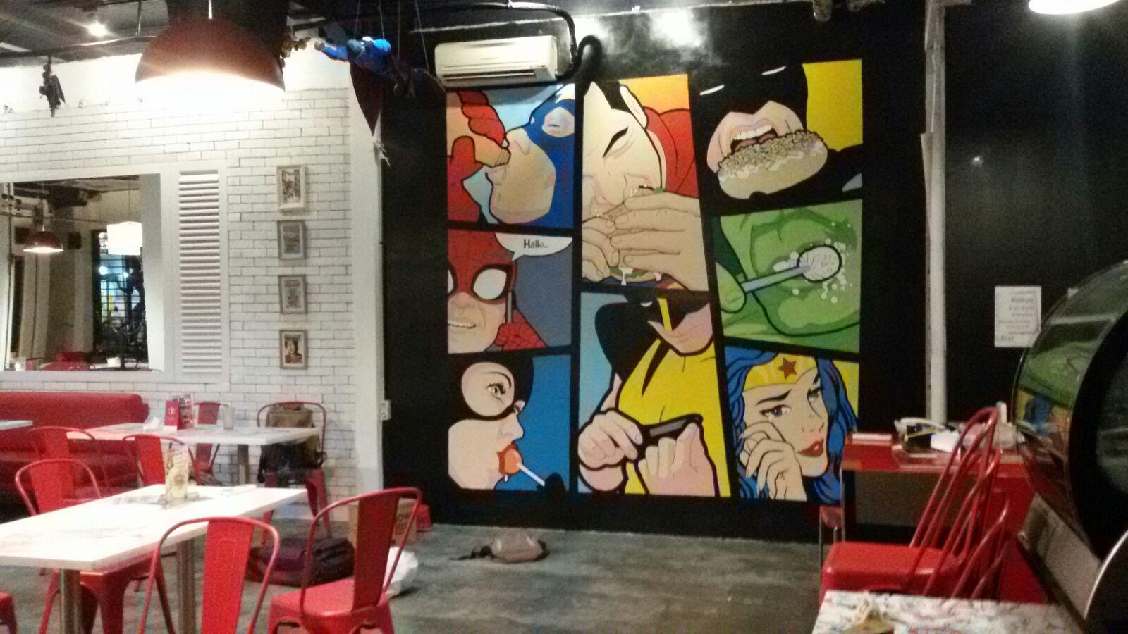 Cosmic Comic Cafe