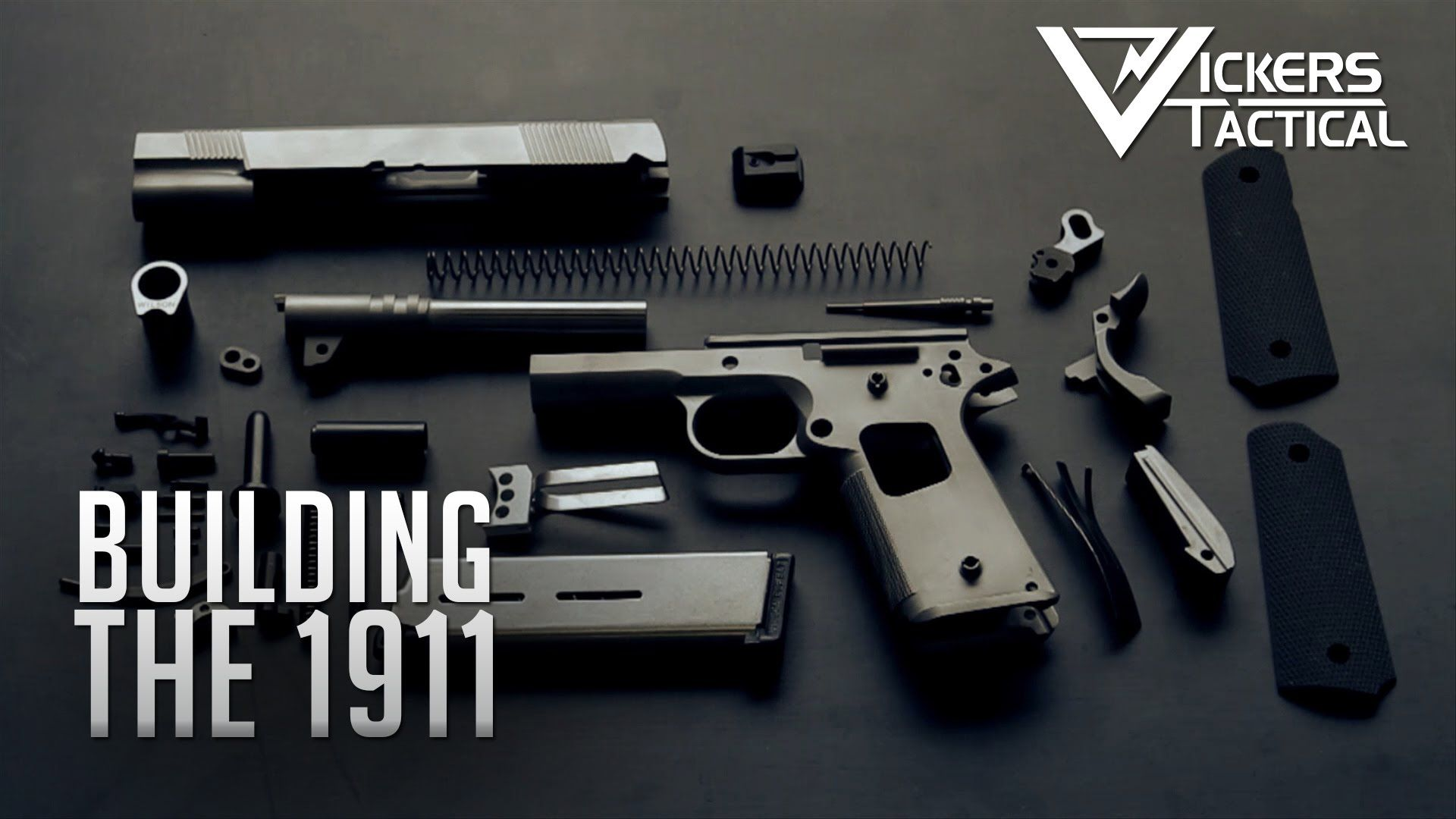 Building the 1911 YouTube Gunsmithing, Building