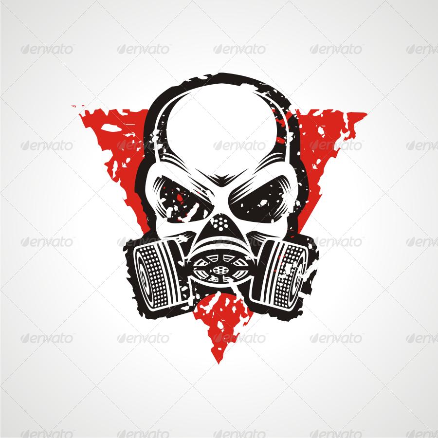 Skull Gas Mask Gas Mask Gas Mask Art Gas Mask Tattoo