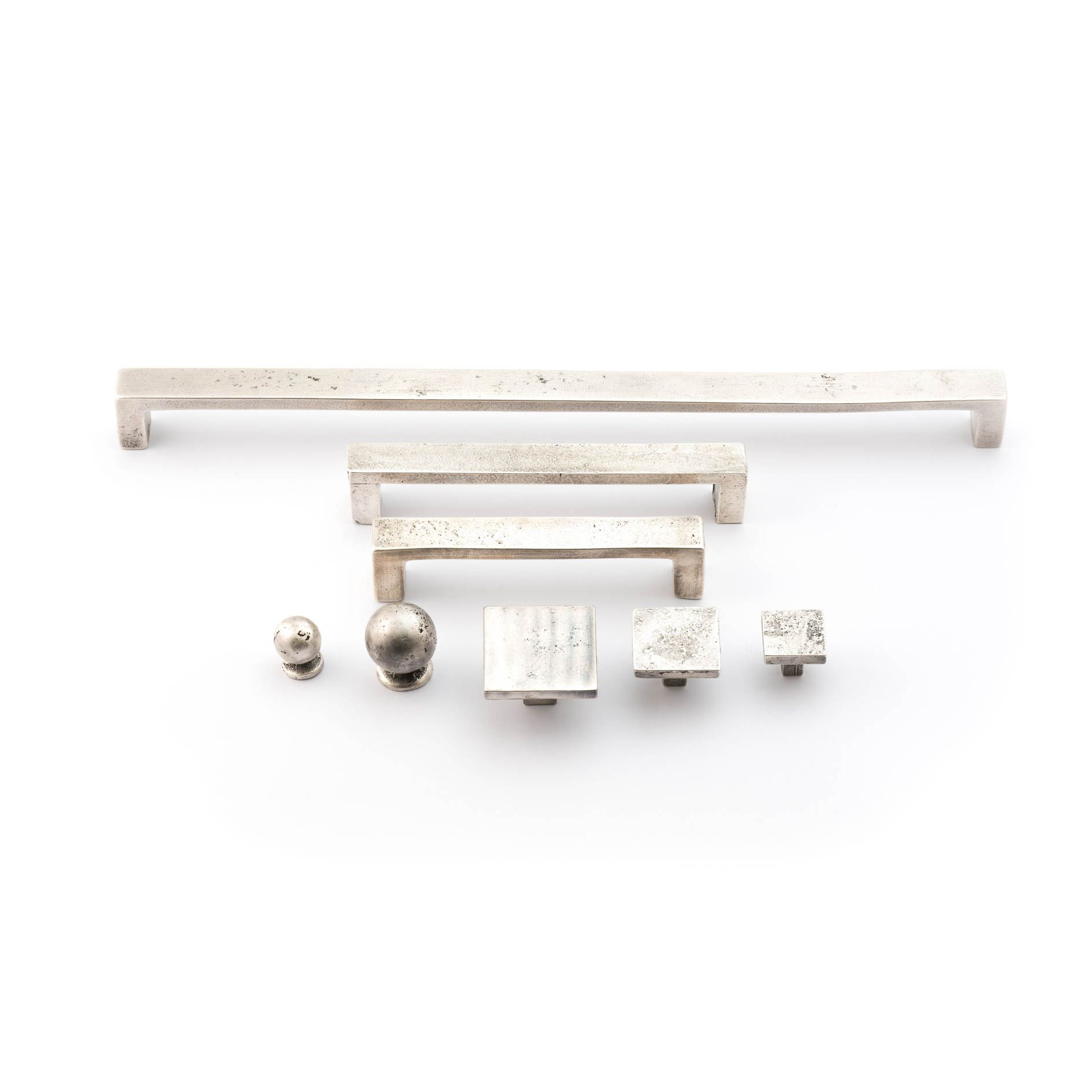 Linea Italiana Solid Bronze Range Of Cabinet Handles From The