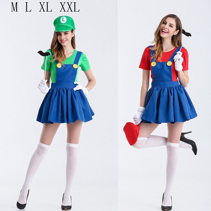 girl costume Sexy luigi