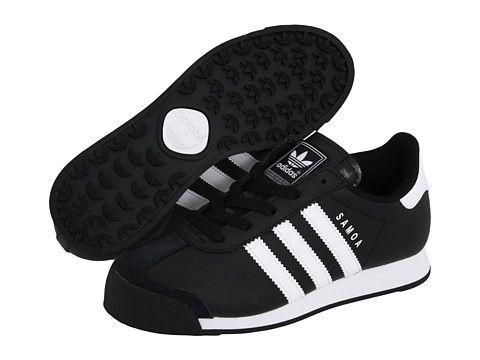 reputable site 33f91 3c274 adidas Originals Kids Samoa (Big Kid) Black White White - Zappos.com Free  Shipping BOTH Ways