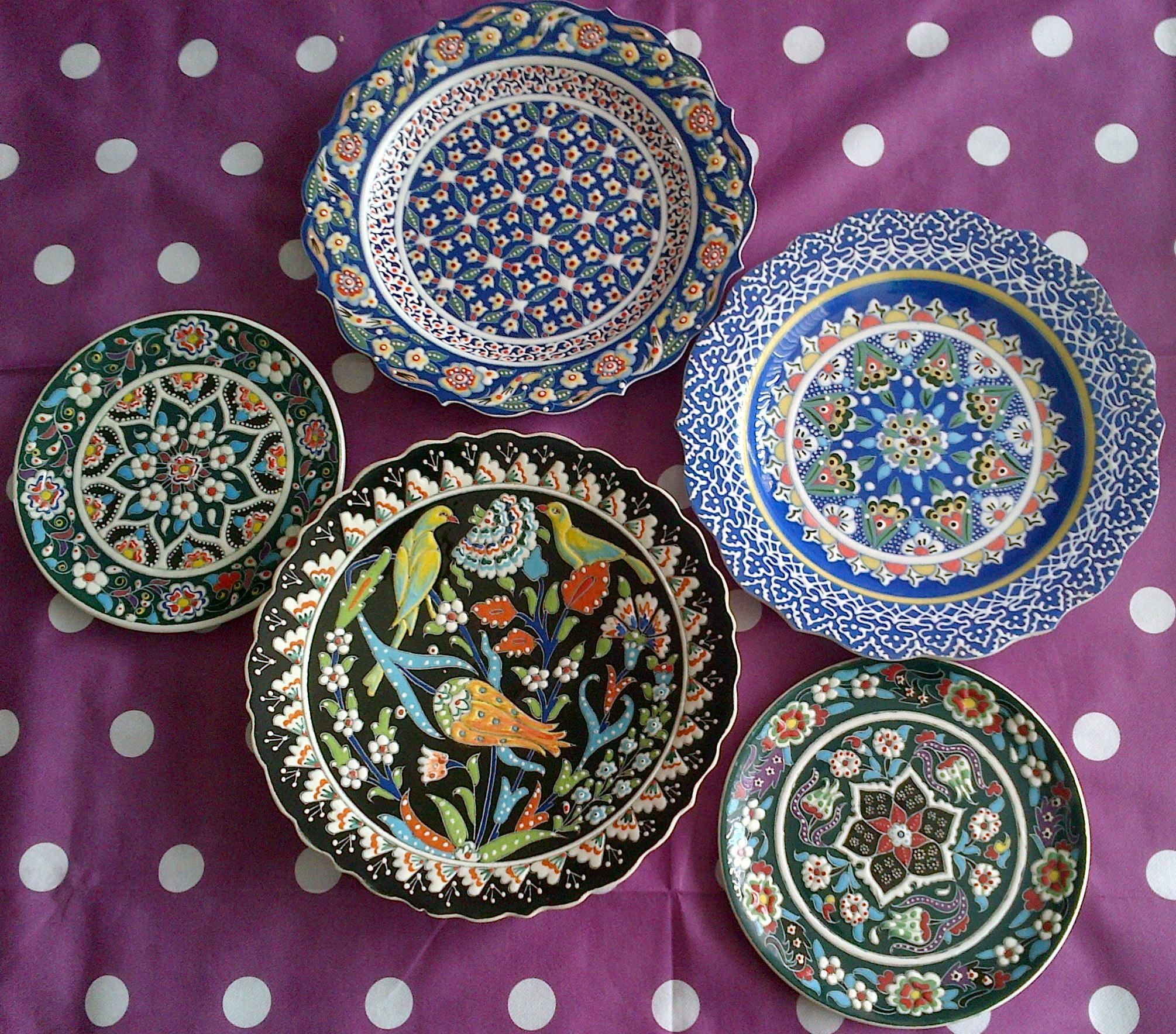 Turkish Plates Turkish Plates Plates On Wall Plate Decor