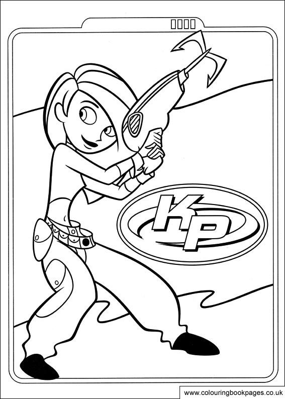 Kim Possible Colouring Pictures Http Www Colouringbookpages Co Uk Characters Kim Possible Cartoon Coloring Pages Coloring Pages Disney Coloring Pages