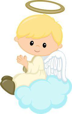 Angel boy. Boys angels first communion