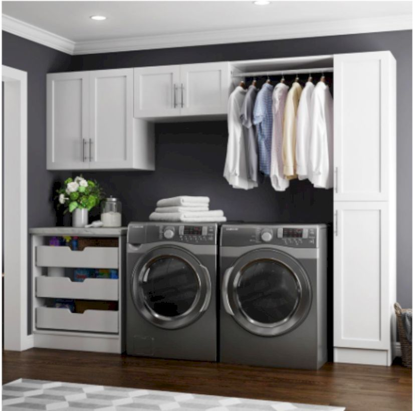 45 Inspiring Small Laundry Room Design And Decor Ideas Home