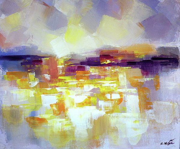 Abstract landscape, The New World 3