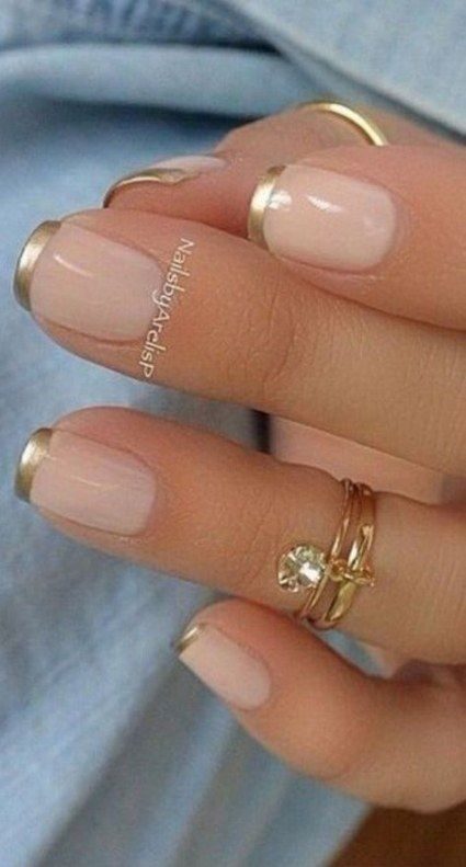 67 Trendy Nails Colors Designs French Manicures French Manicure Gel Nails Gel French Manicure Colorful Nail Designs